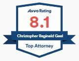 AVVO Rating for Chris Geel