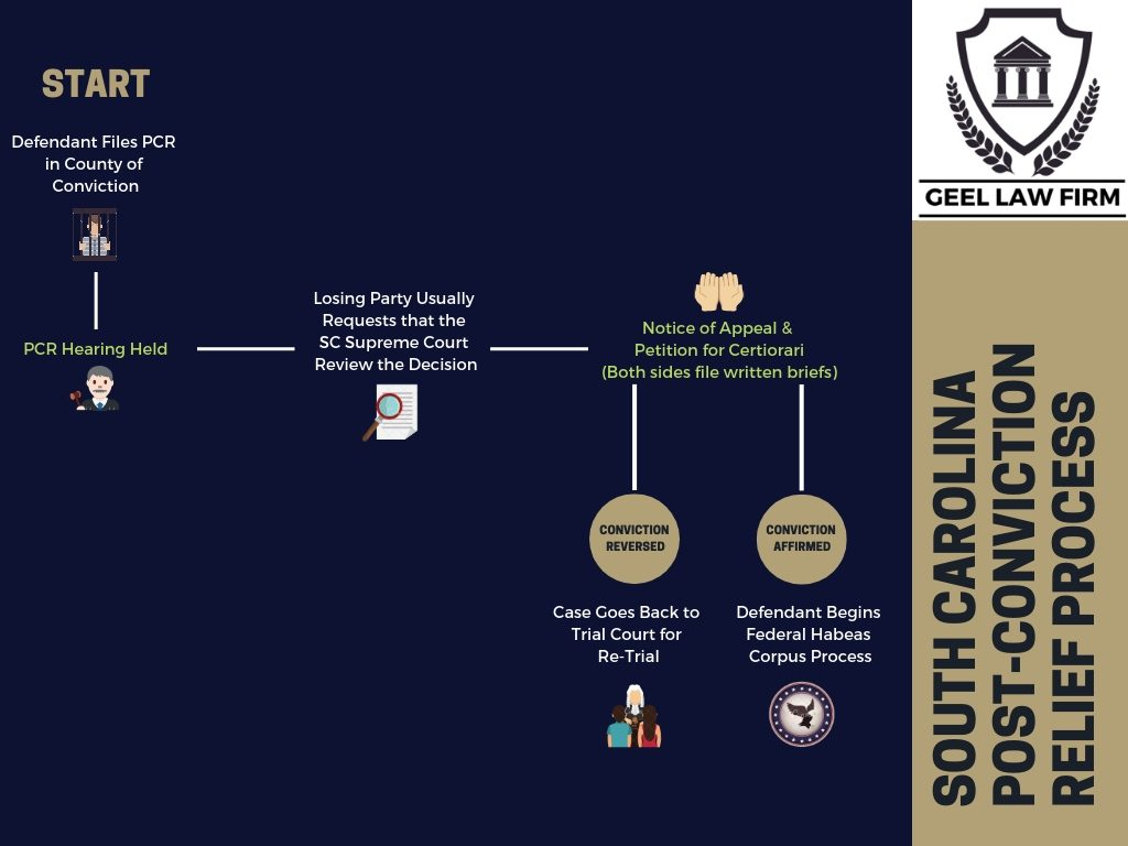 South Carolina PCR Process Infographic